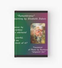 Remembrance card Hardcover Journal