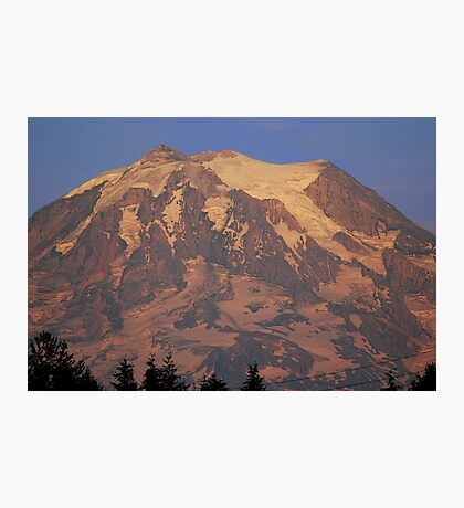 Nearly Naked Rainier Photographic Print