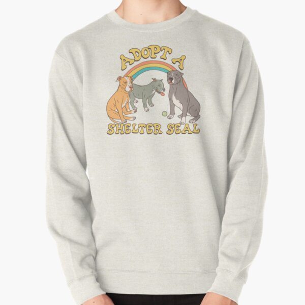 Adopt A Shelter Seal Pullover Sweatshirt