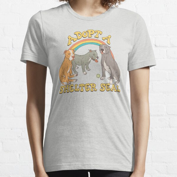 Adopt A Shelter Seal Essential T-Shirt