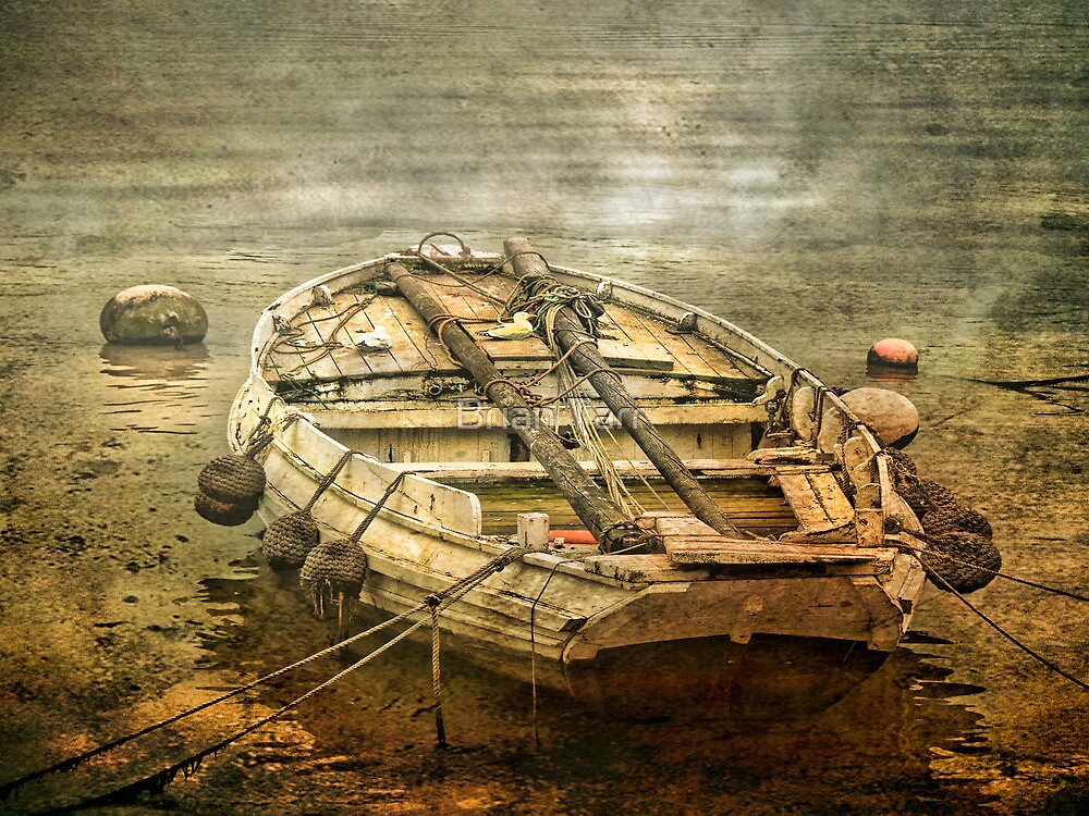 The Old Fishing Boat by Brian Tarr