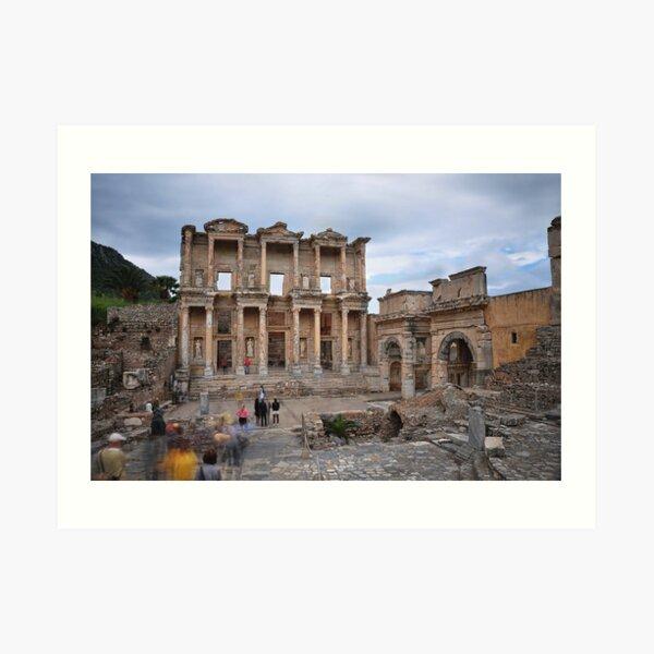 Celsus Library Art Print
