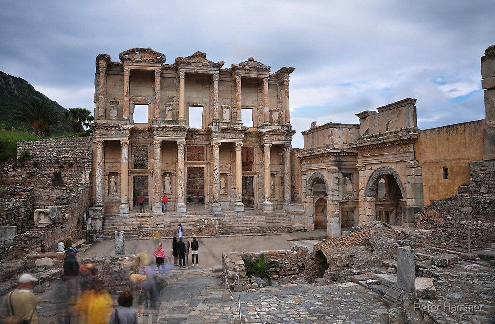 Celsus Library by Peter Hammer