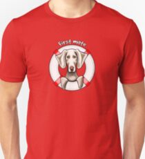 Weimaraner :: First Mate Unisex T-Shirt