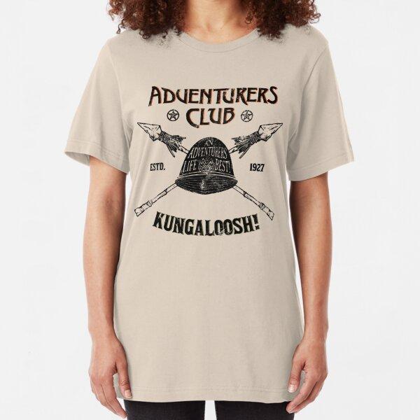 Adventurers Club Slim Fit T-Shirt