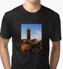 Scrabo, Newtownards. (Please Enlarge) Tri-blend T-Shirt