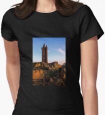 Scrabo, Newtownards. (Please Enlarge) Women's Fitted T-Shirt