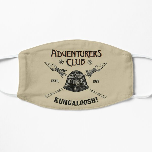 Adventurers Club Flat Mask