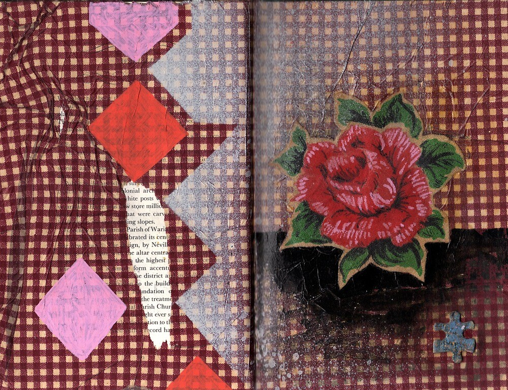 AlteredBook12 #16 by zoe trap