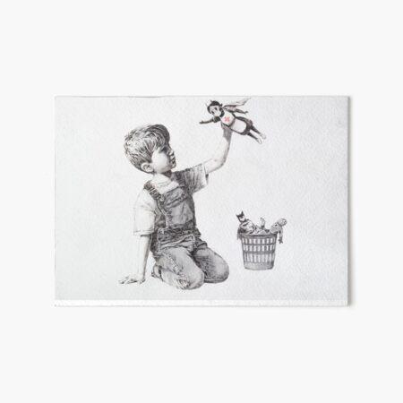 BANKSY NHS SUPERHERO NURSE MASK - Makes An Ideal Gift! Art Board Print