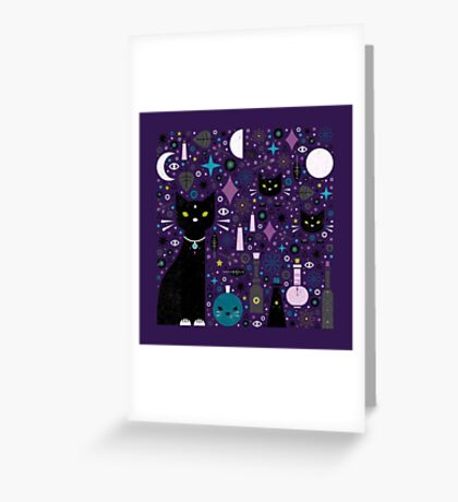Halloween Kittens  Greeting Card
