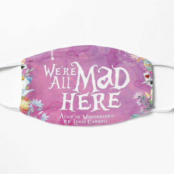 Alice au pays des merveilles - Nous sommes tous fous ici Masque sans plis