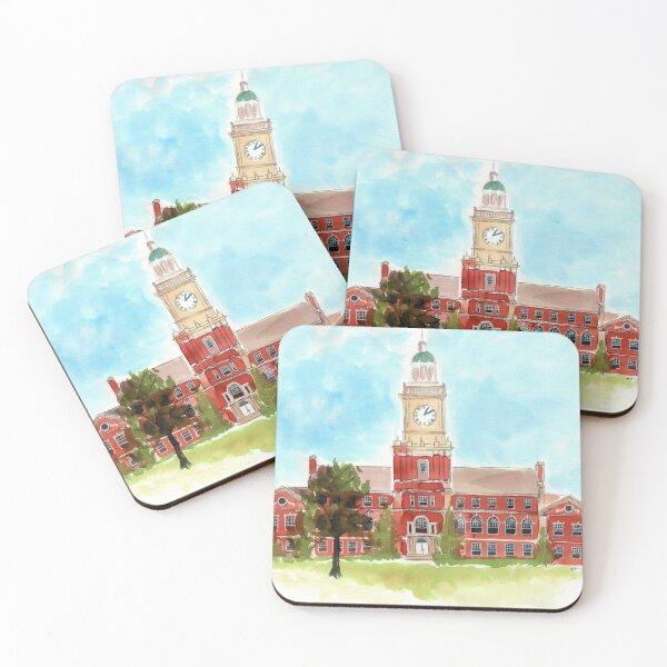 Howard University - Founders Library Coasters (Set of 4)