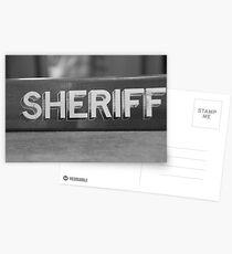 RIP Sheriff  Postcards