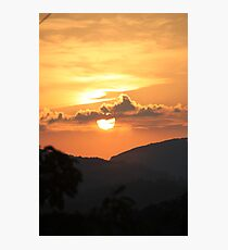 Sun over the BlueRidge Photographic Print