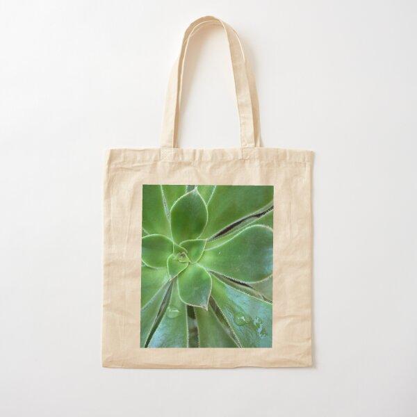 Succulent Cotton Tote Bag