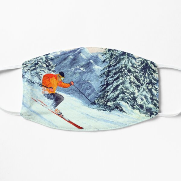 Skiing - The Clear Leader Mask