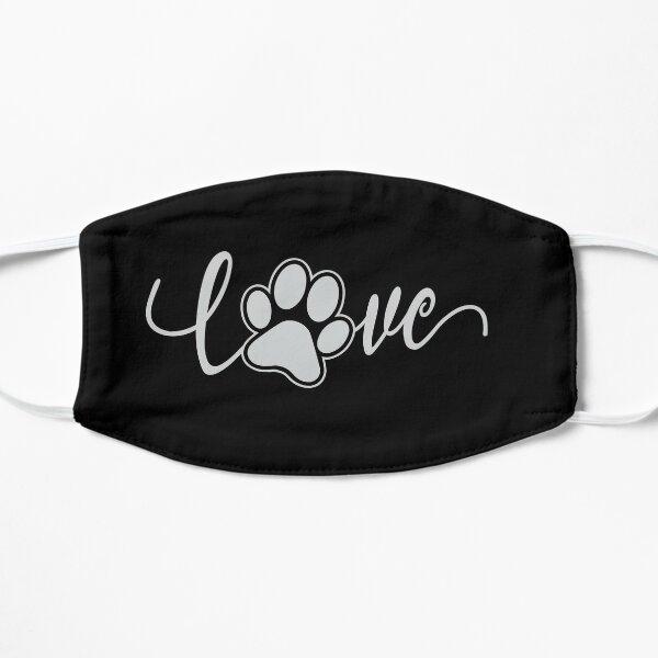 I Love Dogs  Flat Mask