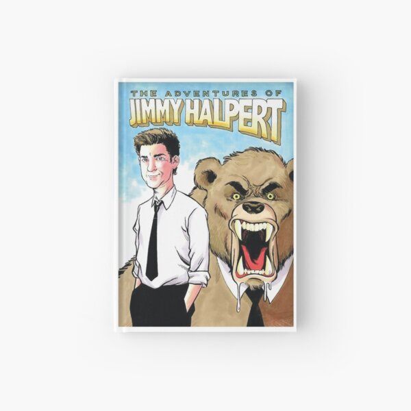 The Office: The Adventures of Jimmy Halpert  Hardcover Journal