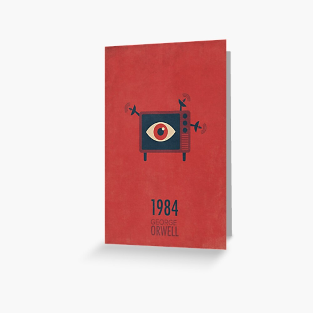 "GEORGE ORWELL /""RED/"" ART QUOTE PRINT PHOTO POSTER GIFT ANIMAL FARM 1984"