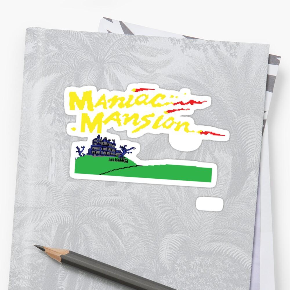Maniac Mansion C64 by ODN Apparel