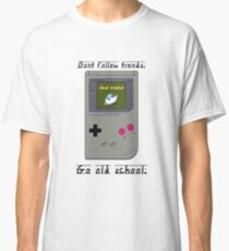 Old School Gameboy. Classic T-Shirt