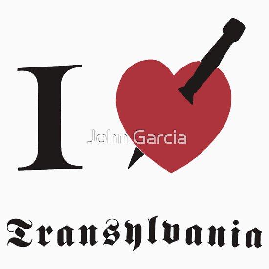 TShirtGifter presents: I love Transylvania