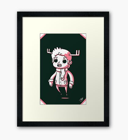 Deer Season Framed Print