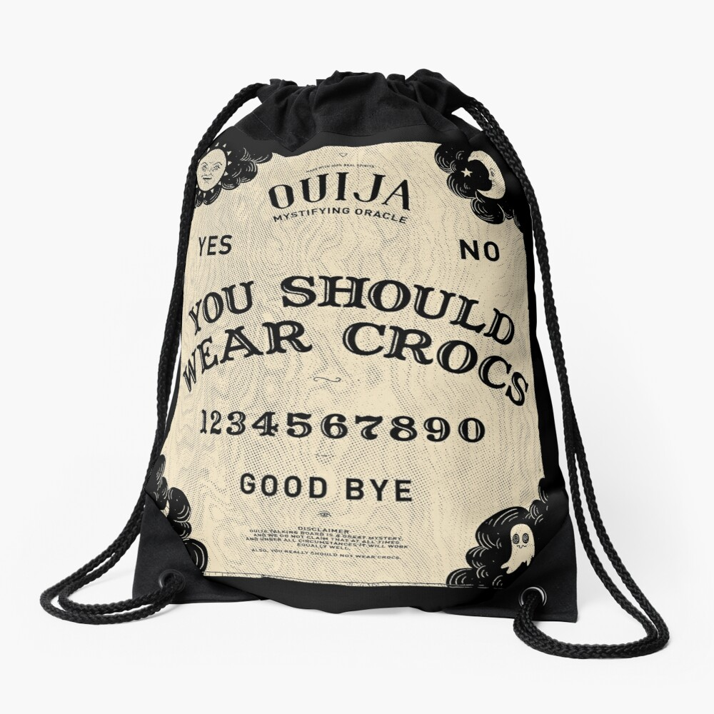 Malevolent Spirits Drawstring Bag