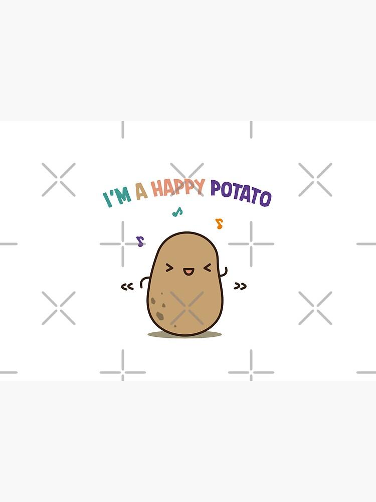 Happy potato by clgtart