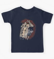 Keepers of the forest mononoke Kids Tee