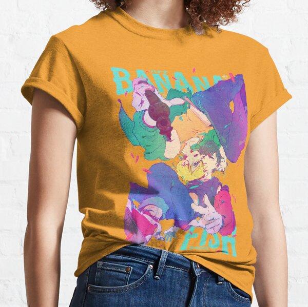 BANANA FISH typo poster T-shirt classique