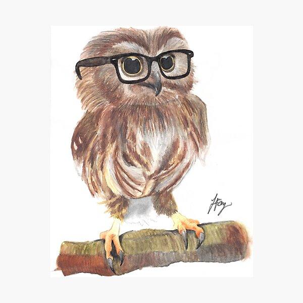 "Clark ""Owl"" Kent Photographic Print"