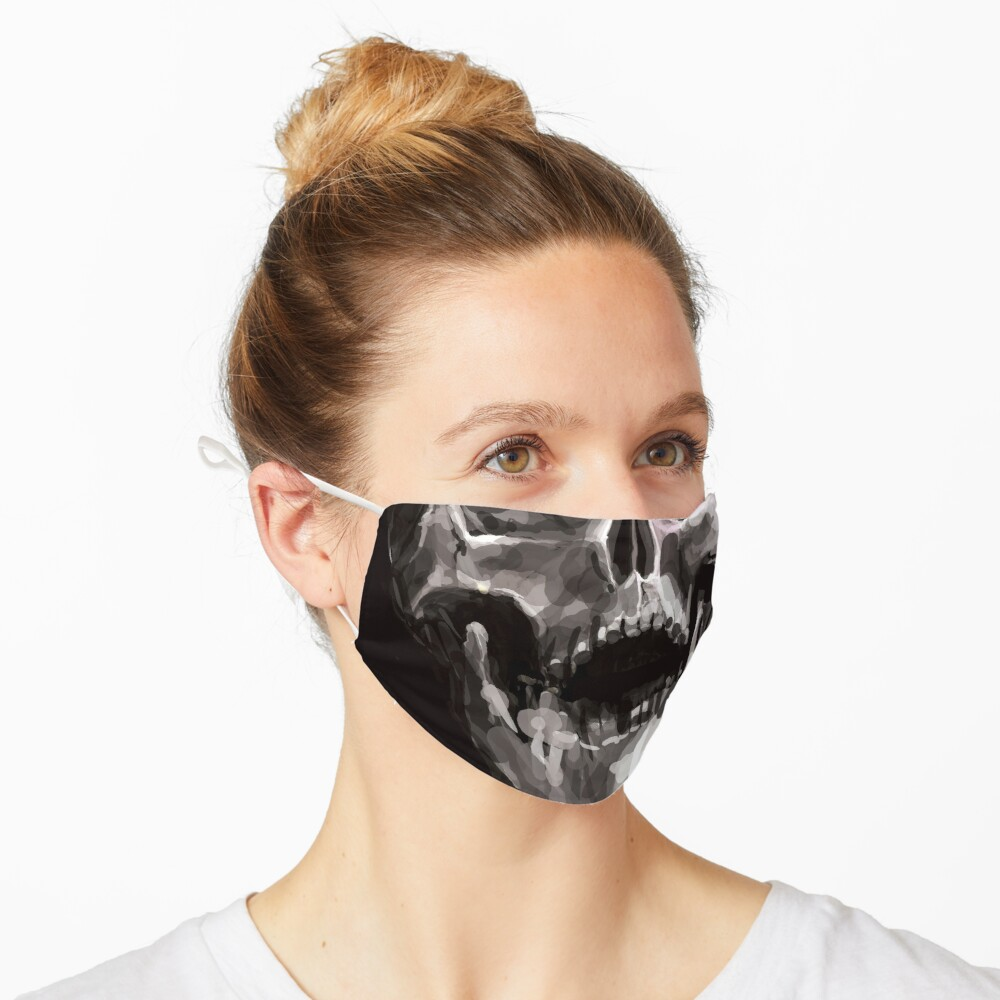 Masque «pas de raison d'en rire»