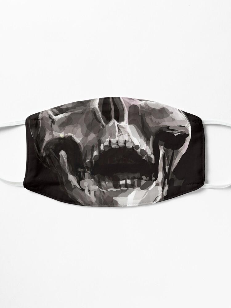 Masque ''pas de raison d'en rire': autre vue