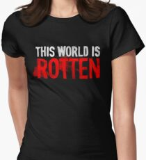 This world is rotten Women's Fitted T-Shirt
