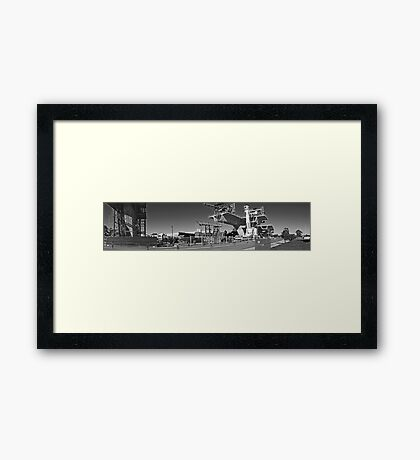 Construction Framed Print