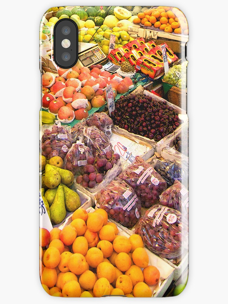 Fruit Stand (iPhone & iPod case) by Janice Chiu