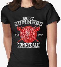 Buffy - One Born Womens Fitted T-Shirt