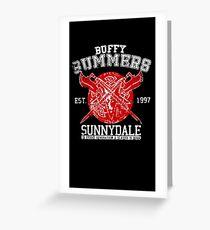 Buffy - One Born Greeting Card
