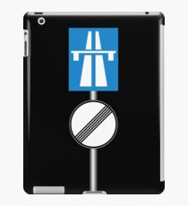Autobahn No Speed Limit iPad Case/Skin