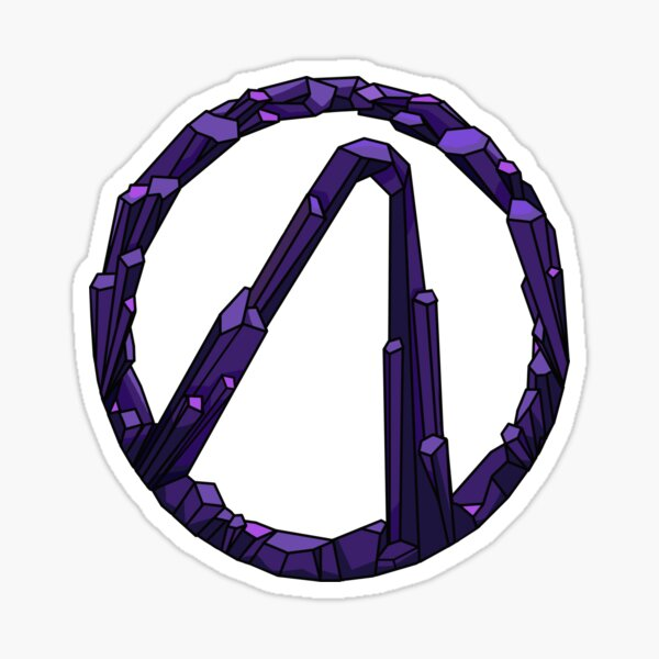 Borderlands Eridium Vaulthunter Symbol Sticker