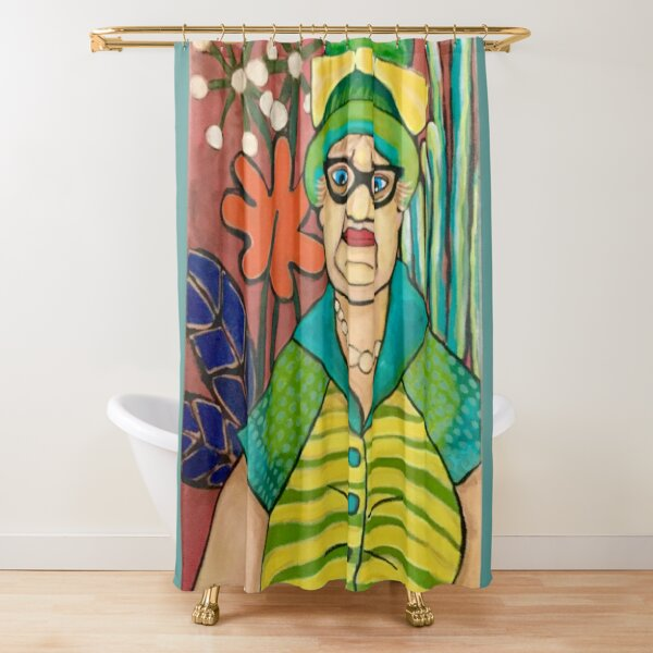 Mabel Had Regrets Shower Curtain