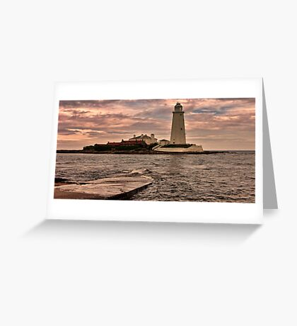 St Mary's Island Greeting Card