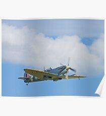 Flypast - Spitfire Mk IX MH434 Poster