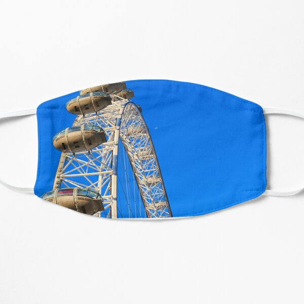 Closeup Of Capsules attached To London Eye and an airplane Mask