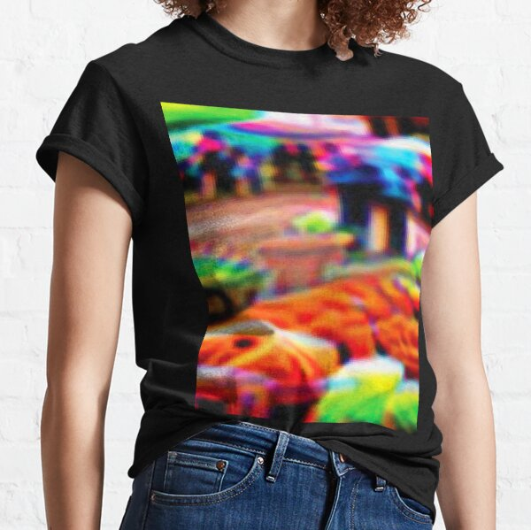 Adversarial Anti-Facial Recognition Invisibility Camouflage Classic T-Shirt