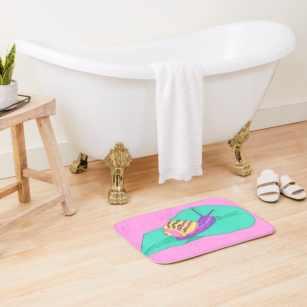 Kawaii Snail Bath Mat