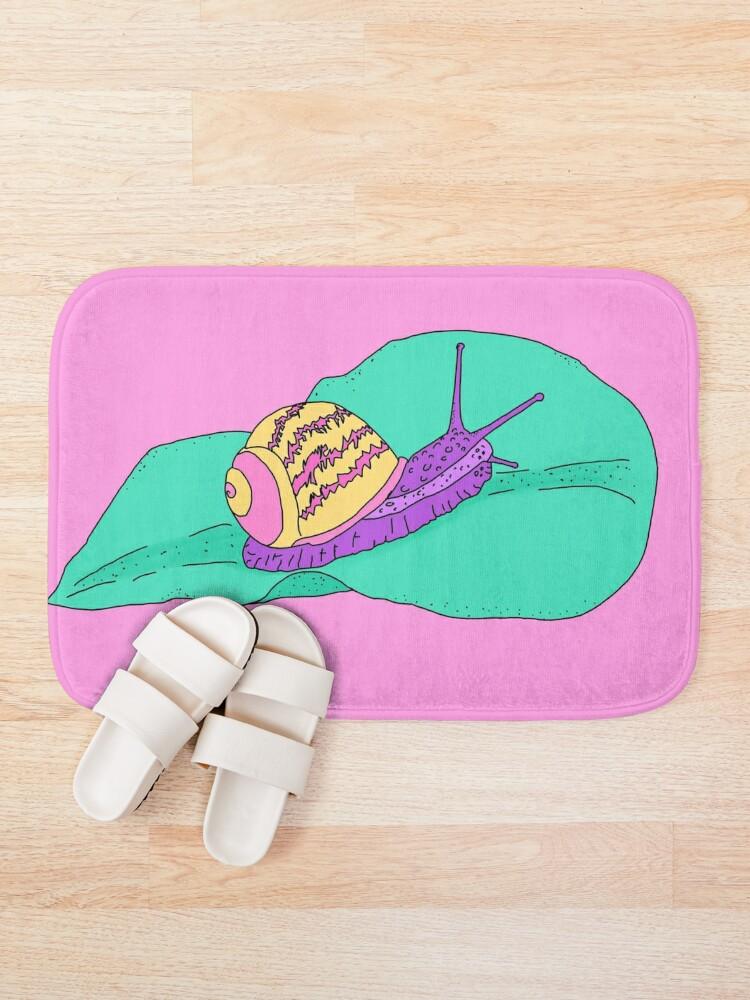 Alternate view of Kawaii Snail Bath Mat