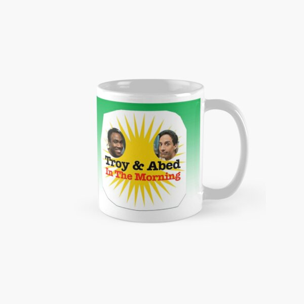 Troy & Abed in the Morning Classic Mug